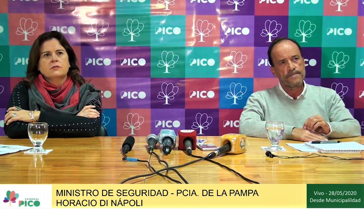 General Pico: anunciaron la colocación de luces led, cámaras de seguridad y renovación de licencias de conducir