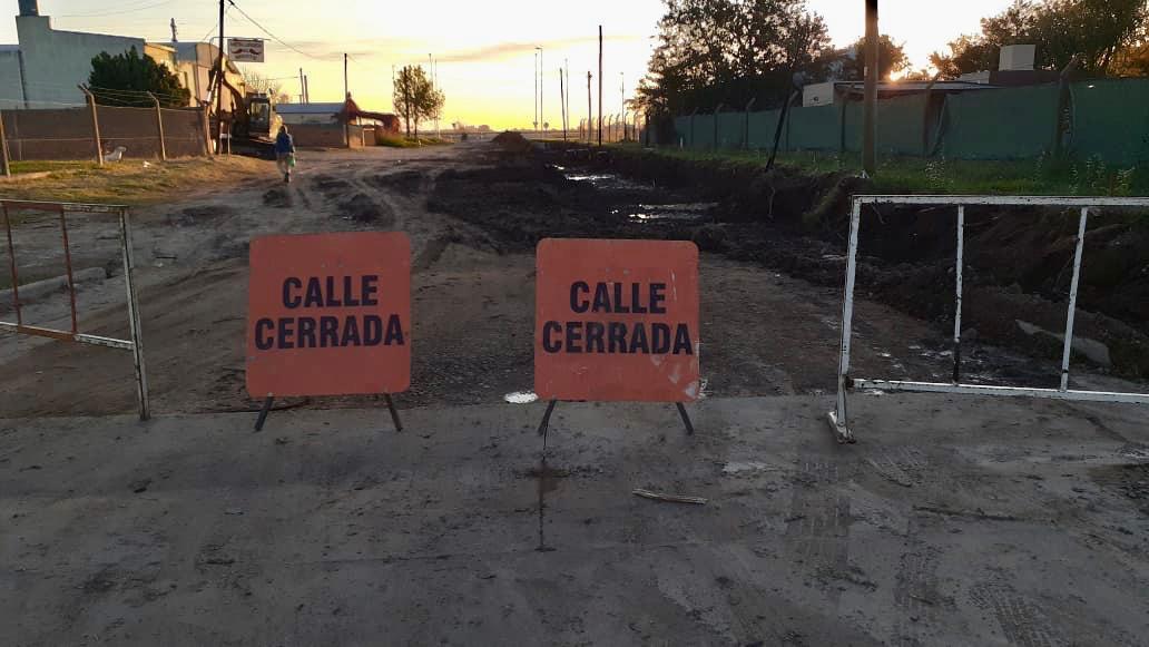 Desde mañana habrá dos cortes de calles en General Pico por un lapso de diez a quince días