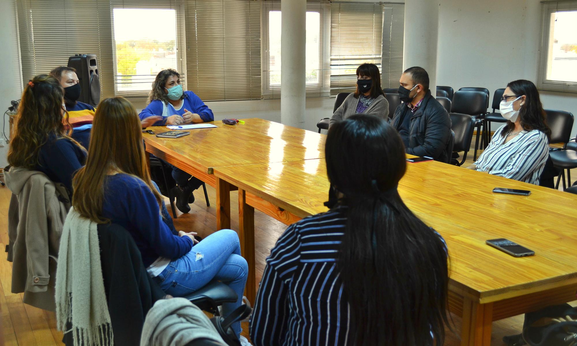 Equipos Técnicos de Desarrollo Social se reunieron para acordar acciones conjuntas