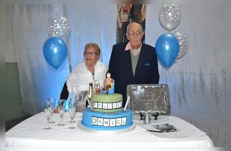 ¡Emotivo festejo!: Don Luna, querido vecino de General Pico celebra hoy sus 103 años