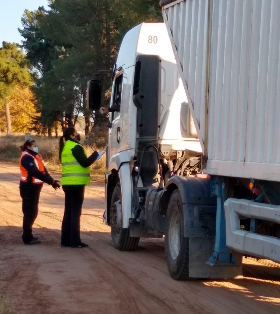 Funcionarios se reunieron para diseñar estrategias de monitoreo para los transportistas que arriban a General Pico