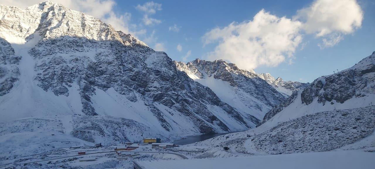 Las increíbles fotos de la primera nevada importante del año en Mendoza