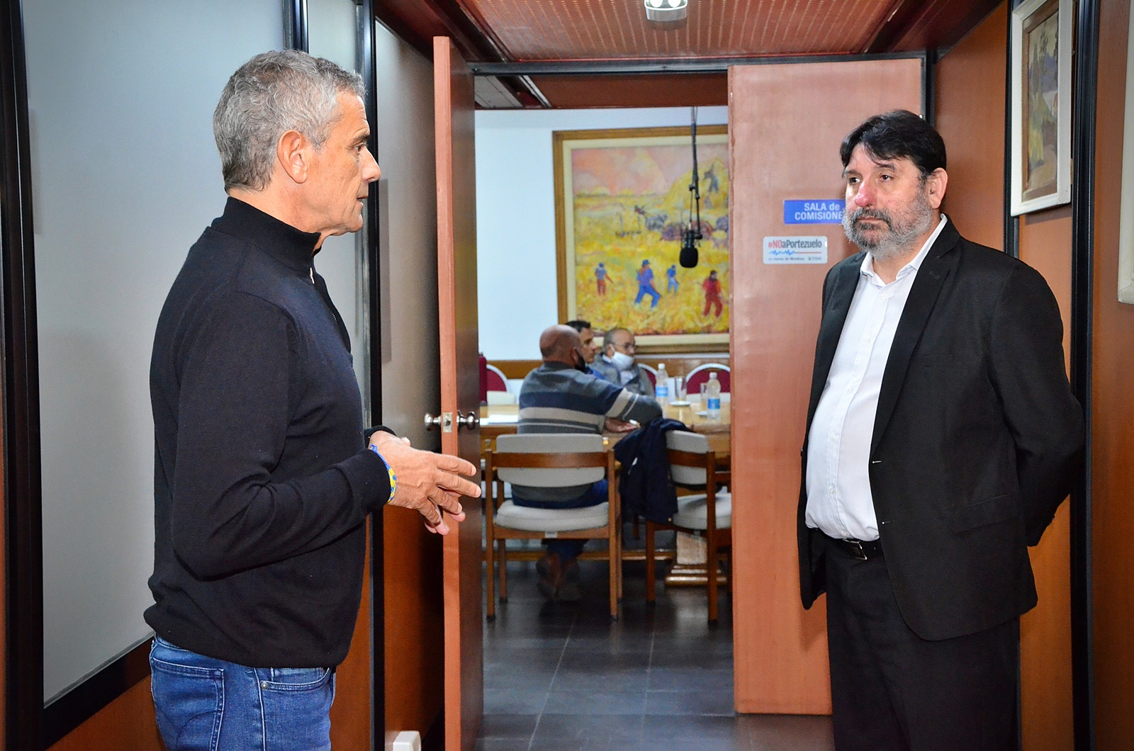 El vicegobernador, Mariano Fernández, destacó la transparencia del gobierno provincial
