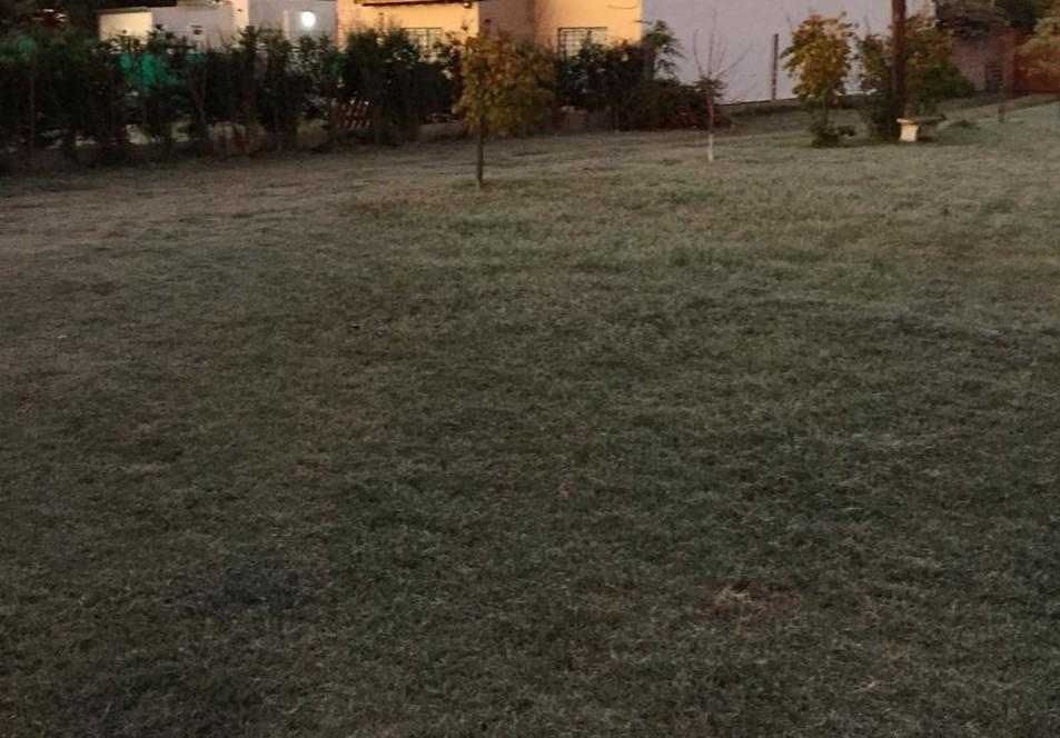 General Pico tuvo hoy la mañana más fría de la semana con una sensación térmica bajo cero