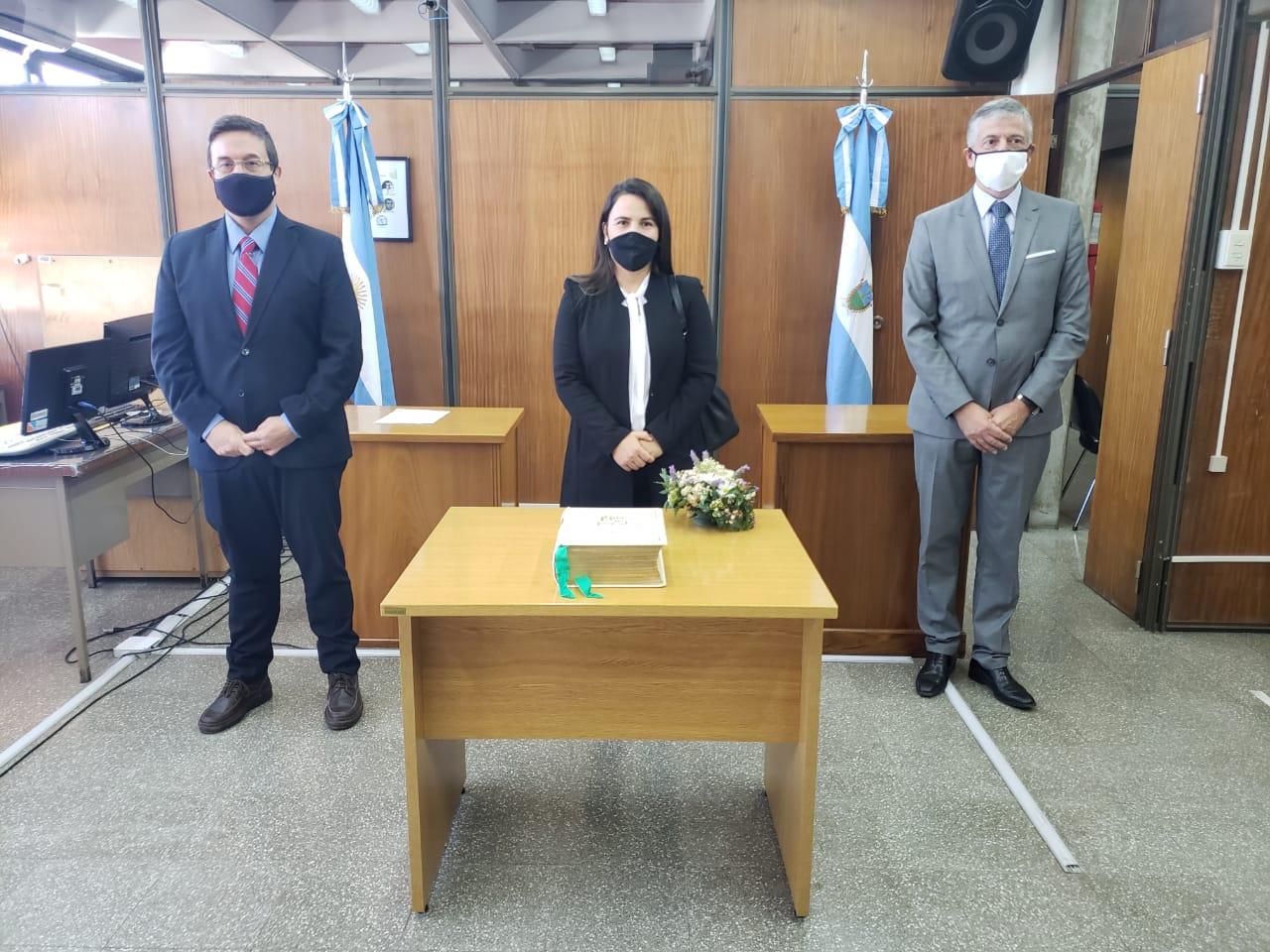 General Pico: Asumió la Dra. Mariana Noemí Patterer como defensora civil sustituta de la segunda circunscripción judicial