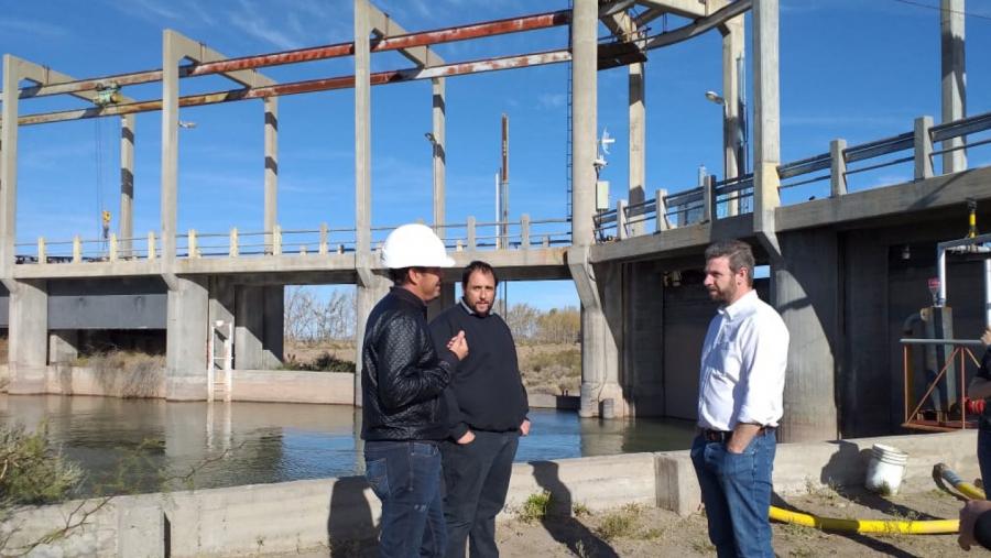 """La central hidroeléctrica """"Los Divisaderos"""" volvió a generar energía"""