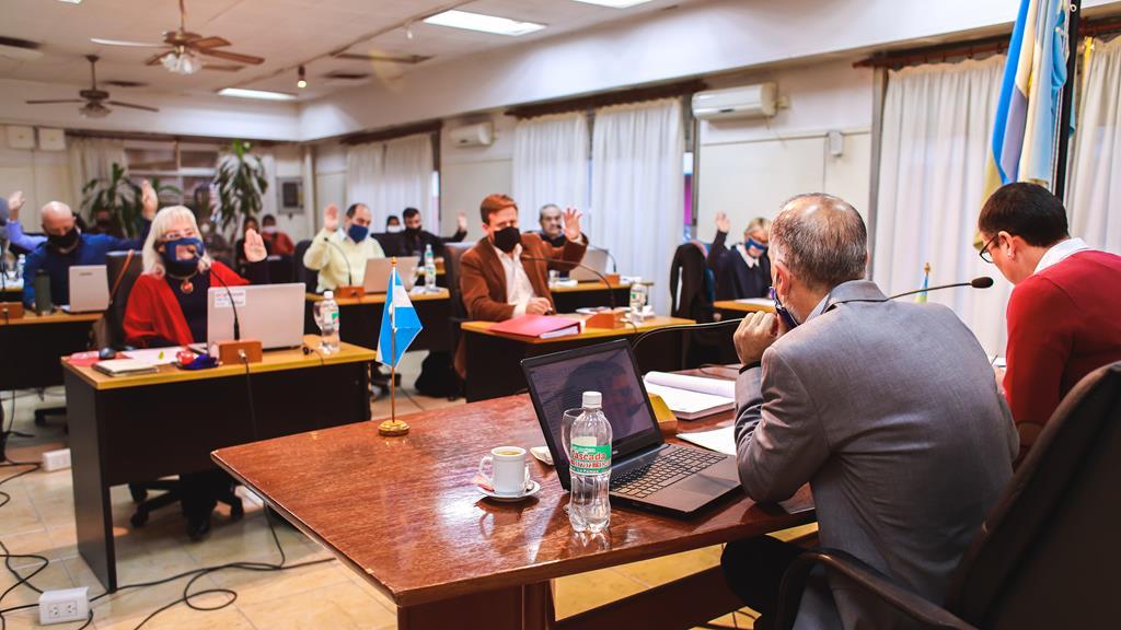 Con 20 puntos abordados, tuvo lugar la 8va sesión ordinaria del Concejo Deliberante