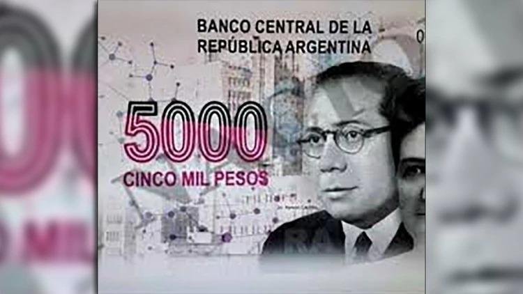 El Gobierno canceló el polémico proyecto del billete de $5.000