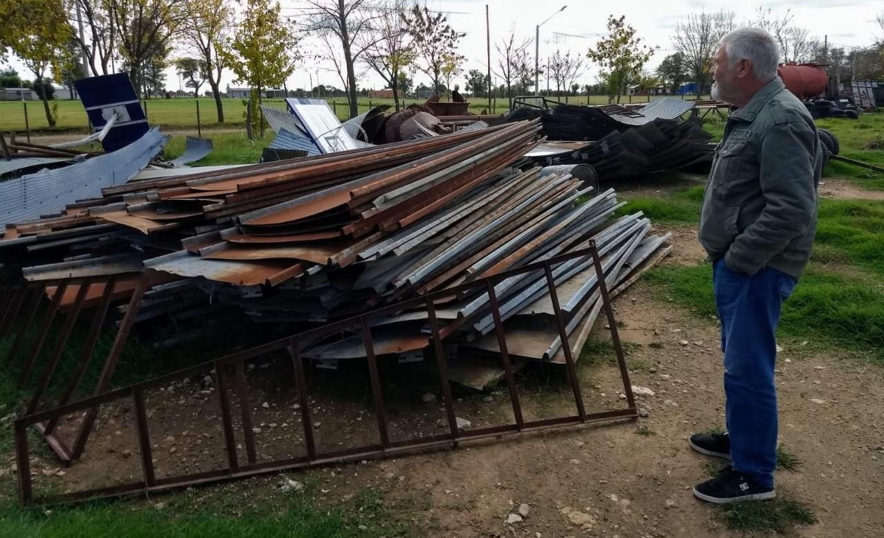Se avanza con el proyecto de puntos limpios y tratamiento de la basura urbana en Metileo