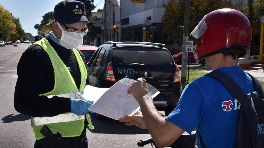 Desde el sábado se podrán tramitar los permisos de circulación provinciales para las nuevas actividades habilitadas