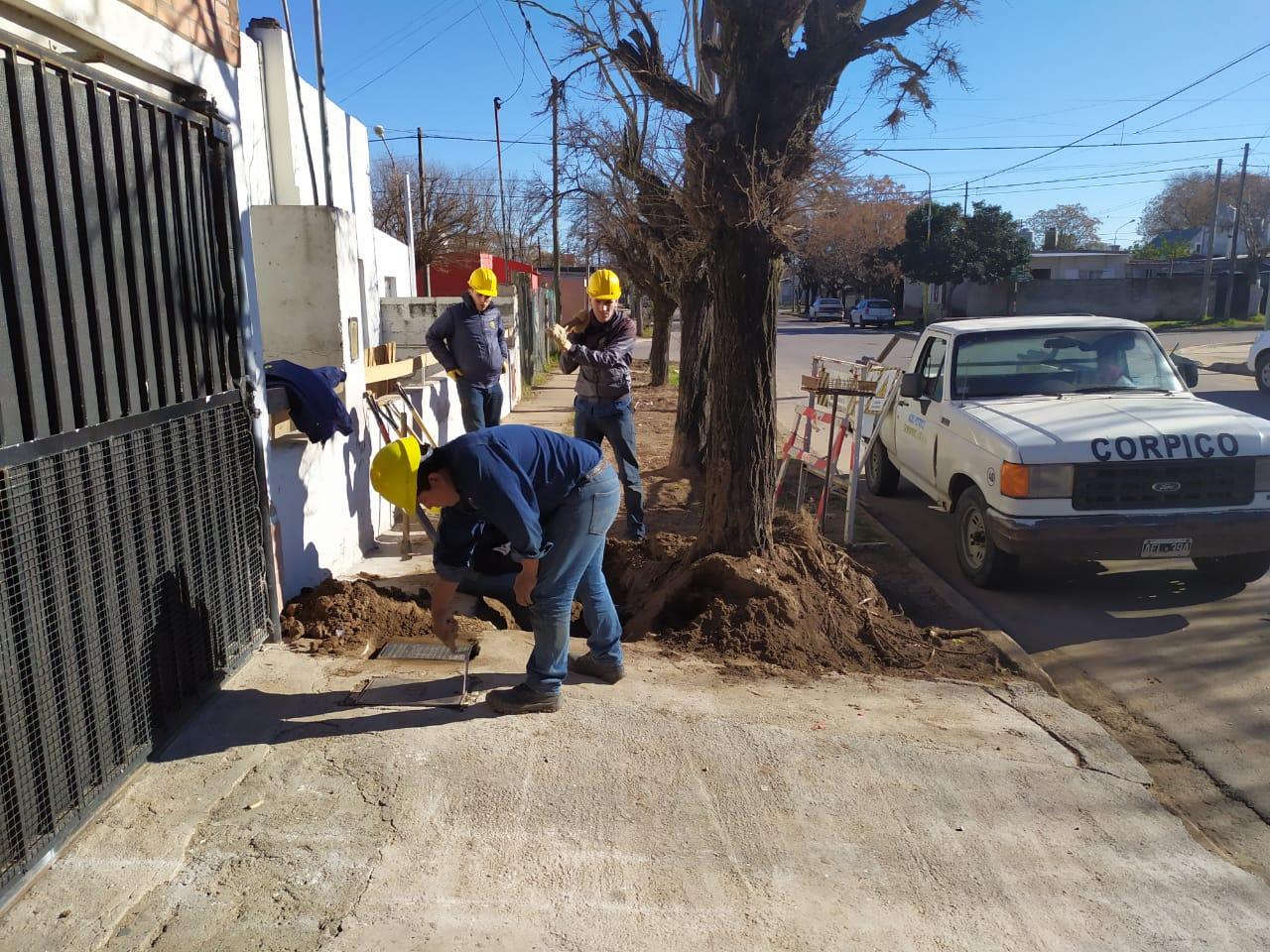 Finalizarán las obras de readecuación de la red de agua potable en el Barrio San Etelvino