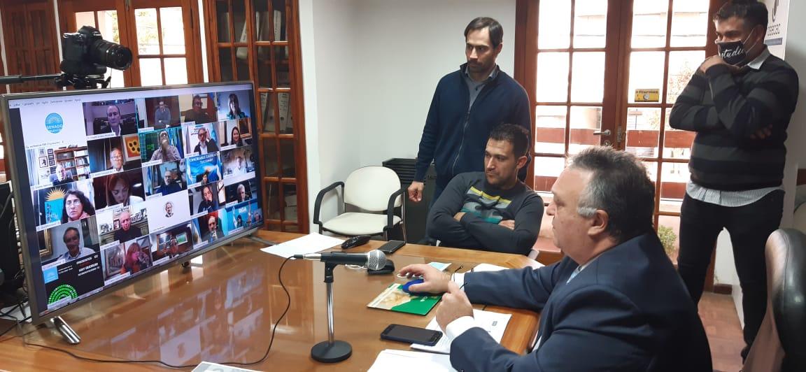 El Registro Civil pampeano participó de la verificación de identidad de senadores para la sesión de este miércoles