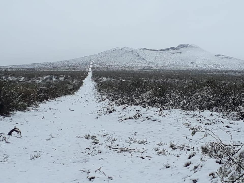 Hoy se cumple un año de la gran nevada que cayó en uno de los puntos más altos de La Pampa