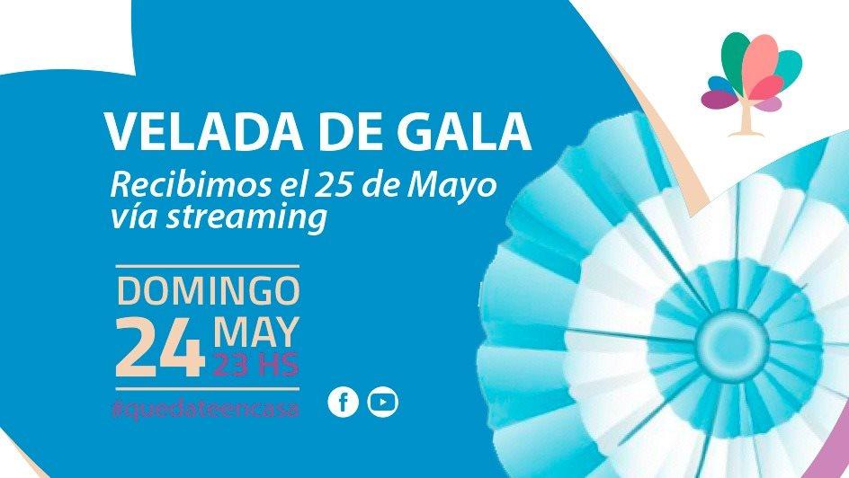 """El Municipio hará una """"velada de gala"""" virtual para recibir el 25 de mayo"""