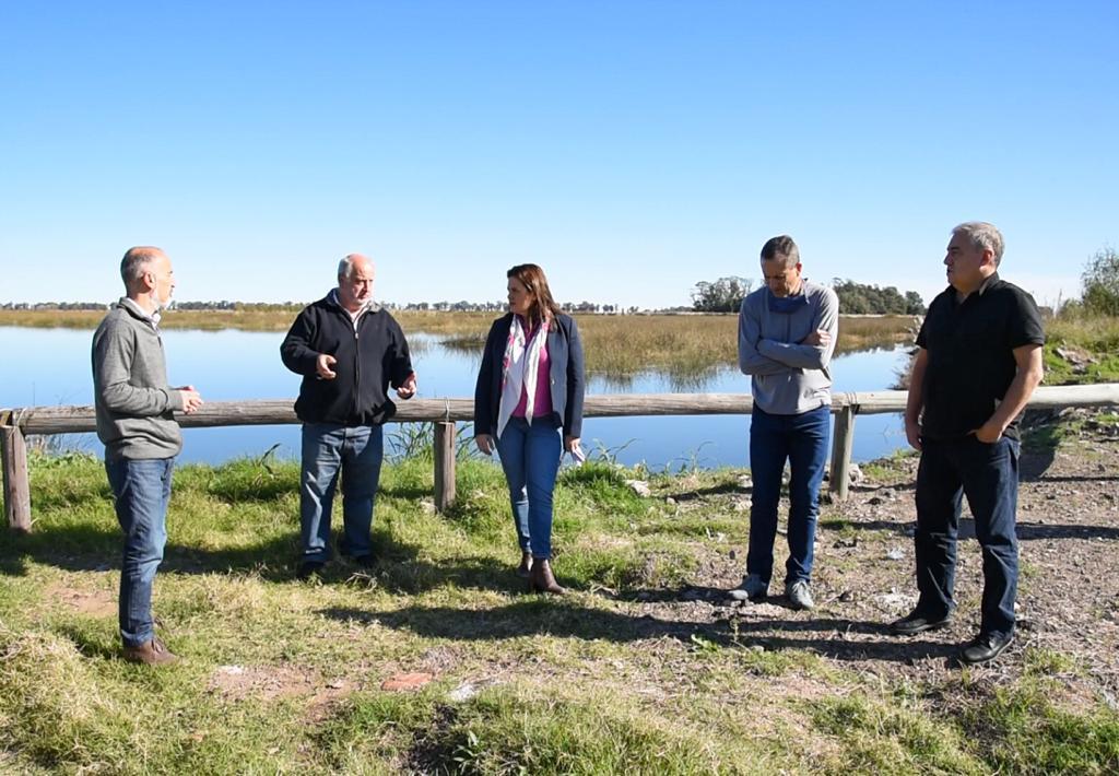 Corpico le presentó al municipio un proyecto histórico por los desagües cloacales