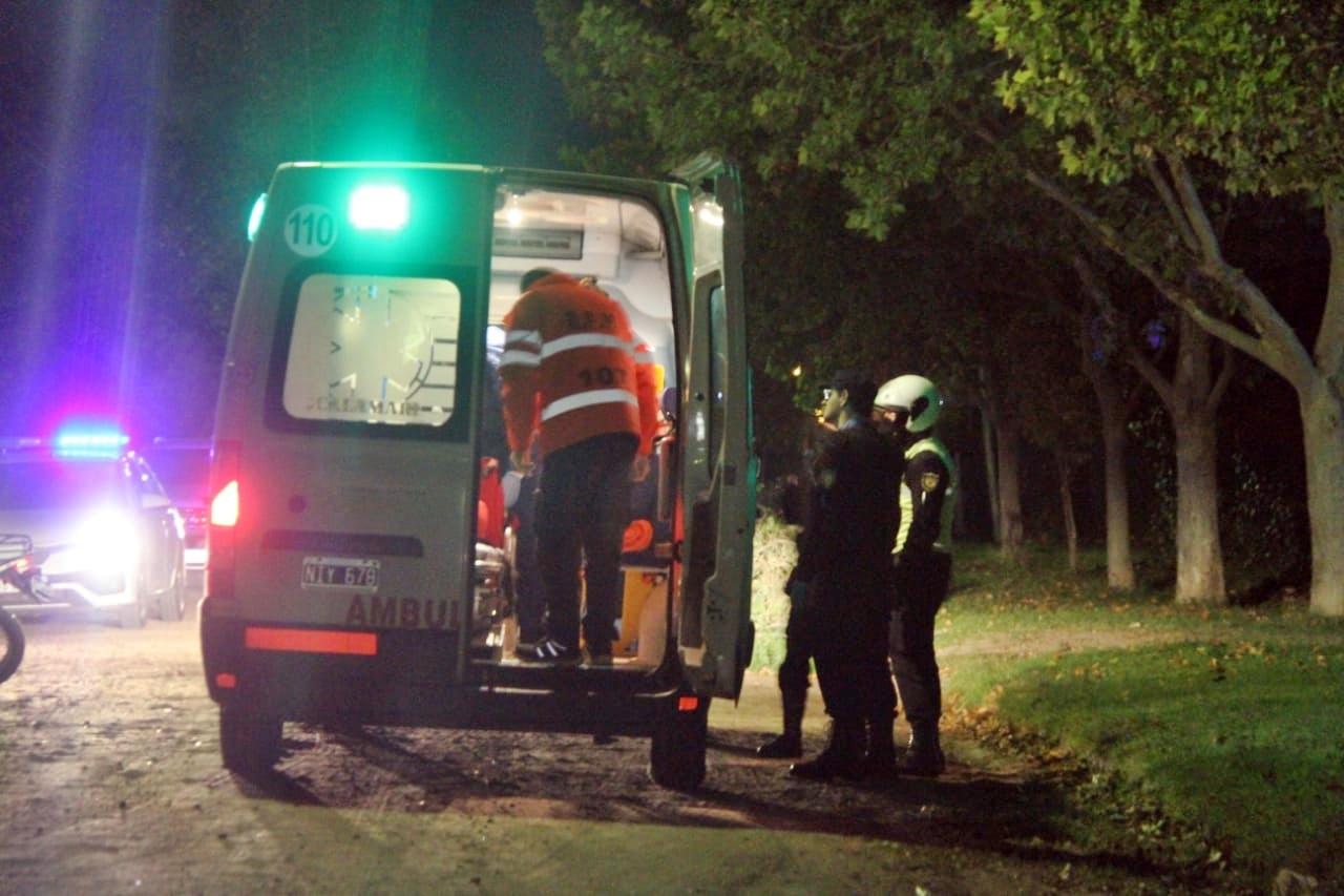 Delincuente protagonizó dos violentos robos, se enfrentó con la policía y terminó con heridas de arma de fuego