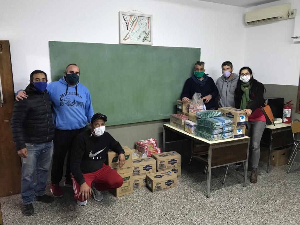 Sindicato Luz y Fuerza Mercedes realizó una campaña para ir en ayuda de instituciones locales