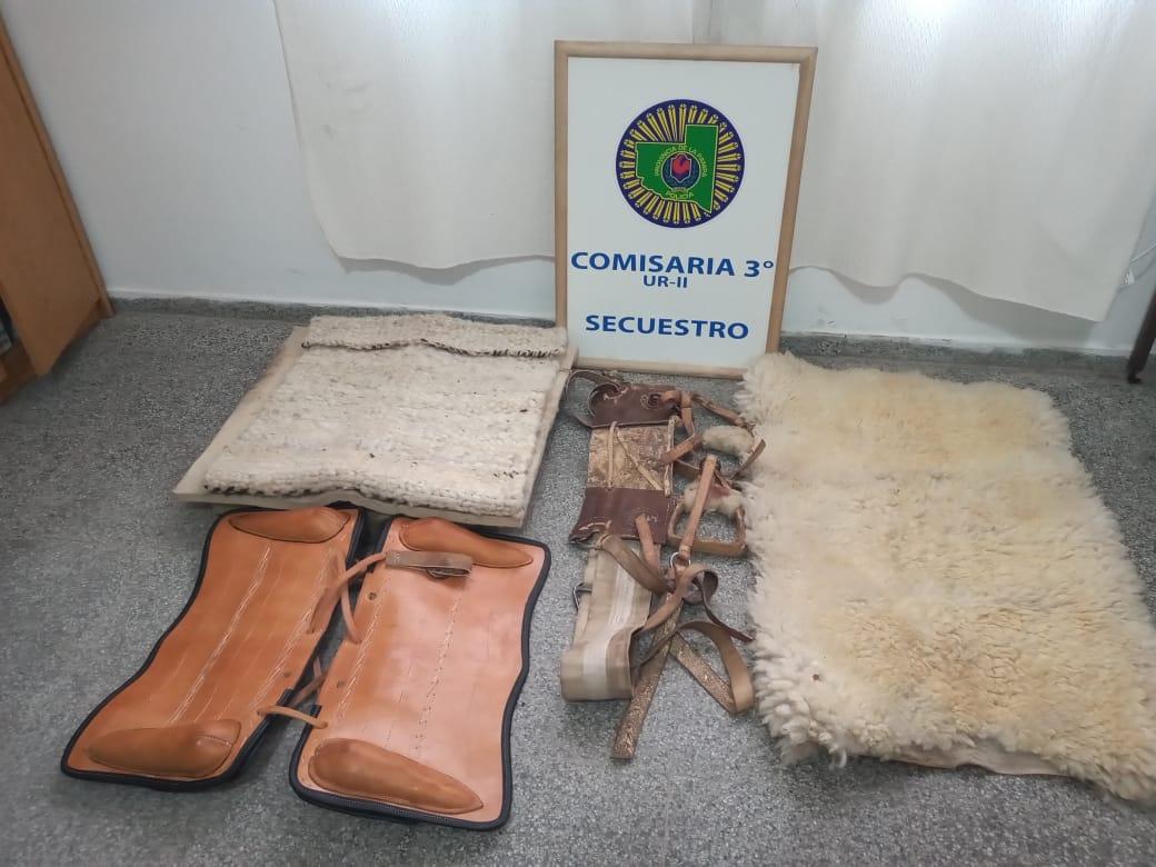 Robo de caballos a la agrupación gaucha Maracó: la policía logró identificar a los autores y se pudo recuperar dos monturas