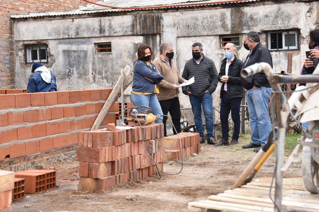 Presupuesto Participativo: Comienzan a ejecutar obras en los barrios Carlos Berg, El Molino y acceso de Villa Borgna