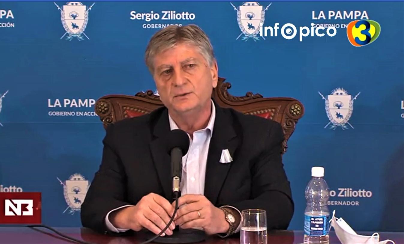 Ziliotto confirmó que por ahora no habrá reuniones familiares en La Pampa