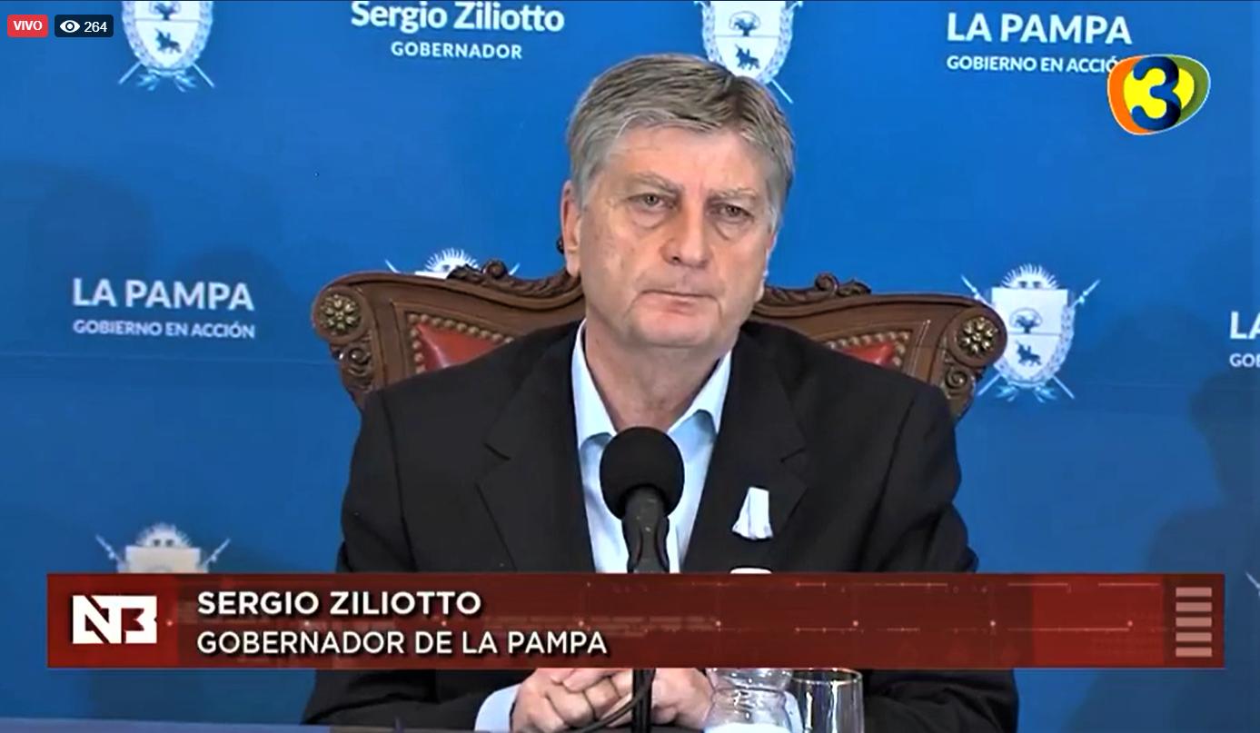 La Pampa: El gobernador Ziliotto anunció obras en rutas nacionales por 3 mil millones de pesos