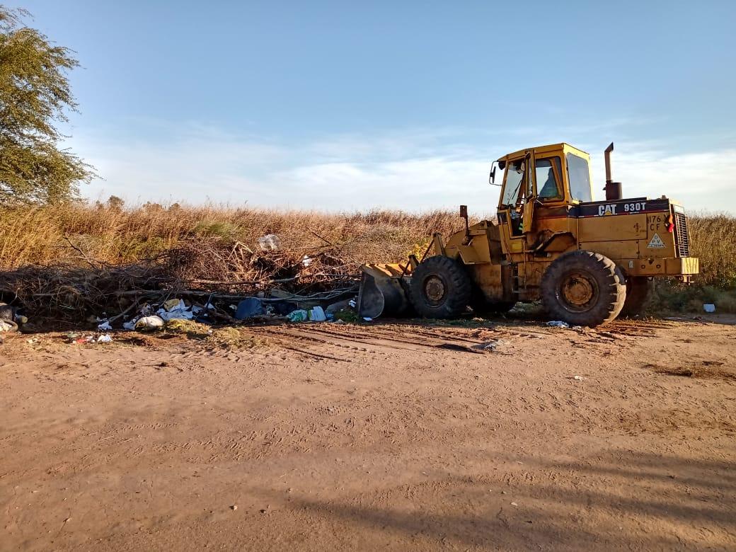 Preocupa al municipio la creación de micros basurales en baldíos o caminos vecinales «es necesario cambiar algunas conductas», dijo Campos