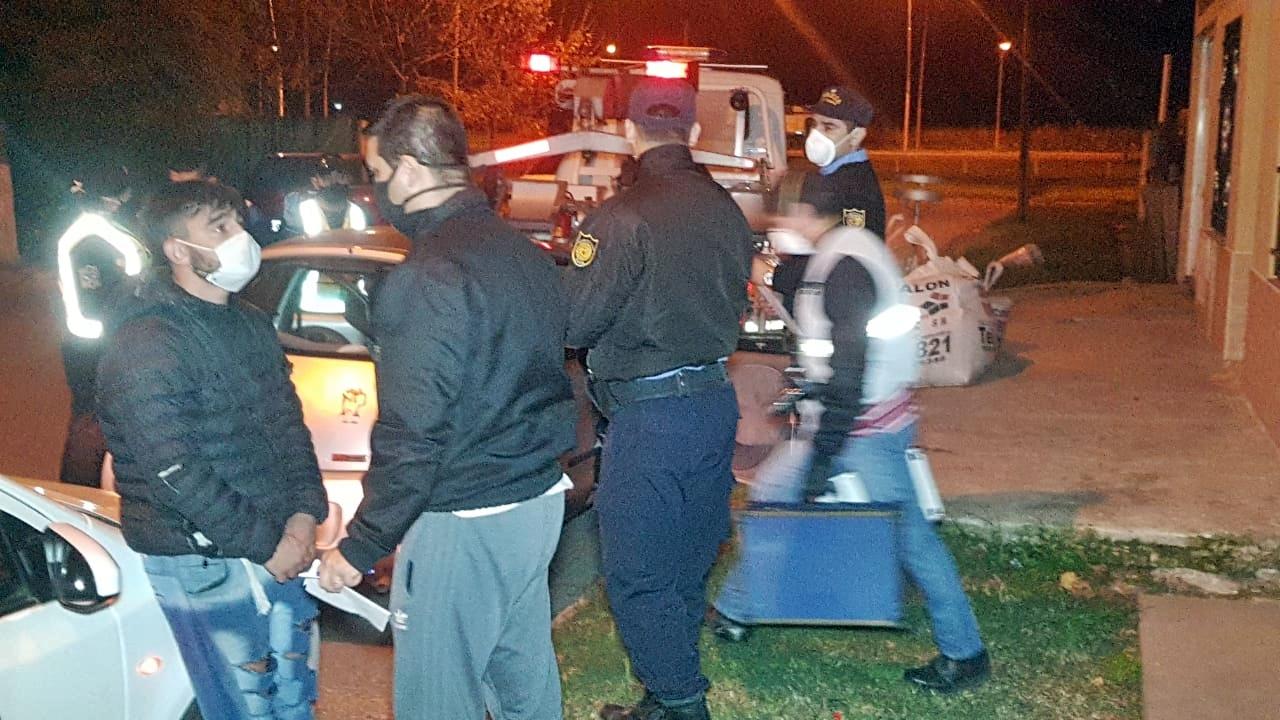 Allanamientos, detenciones y secuestro de vehículo por robo a mano armada en las últimas horas