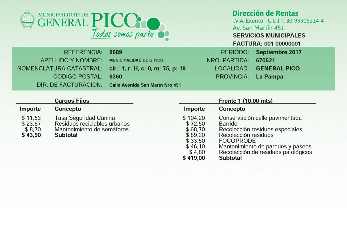 Las tasas municipales de enero, febrero y marzo se podrán pagar sin interés hasta el 30 de Junio
