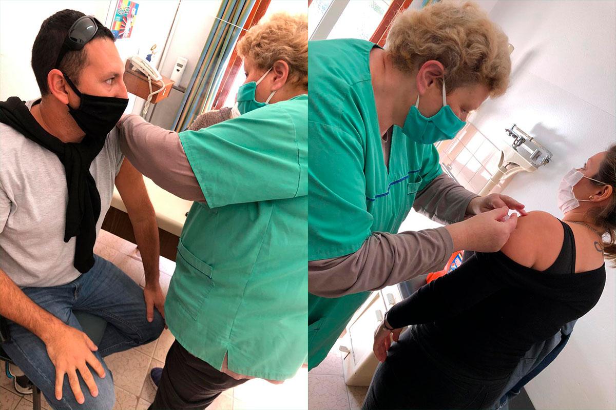 Continúa la jornada de vacunación para empleados Municipales