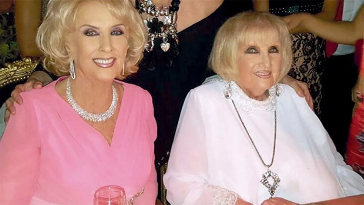 "Murió Silvia ""Goldie"" Legrand, la hermana gemela de Mirtha"