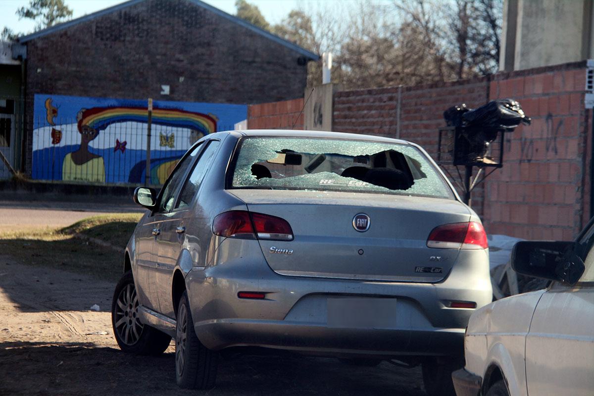 Nuevamente disparos de arma de fuego: Fue contra un vehículo y hay un detenido
