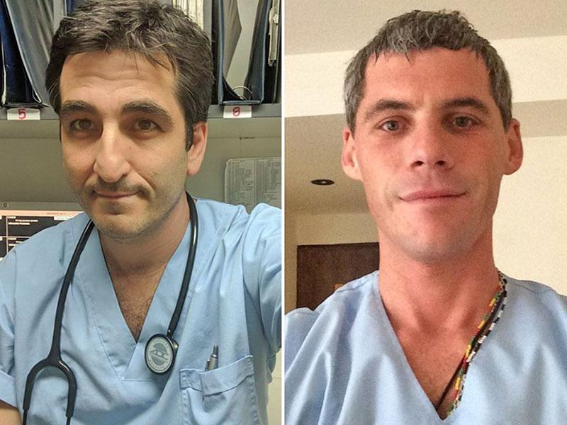 El médico y el enfermero muertos en la tragedia aérea: dos vidas entregadas al servicio humanitario