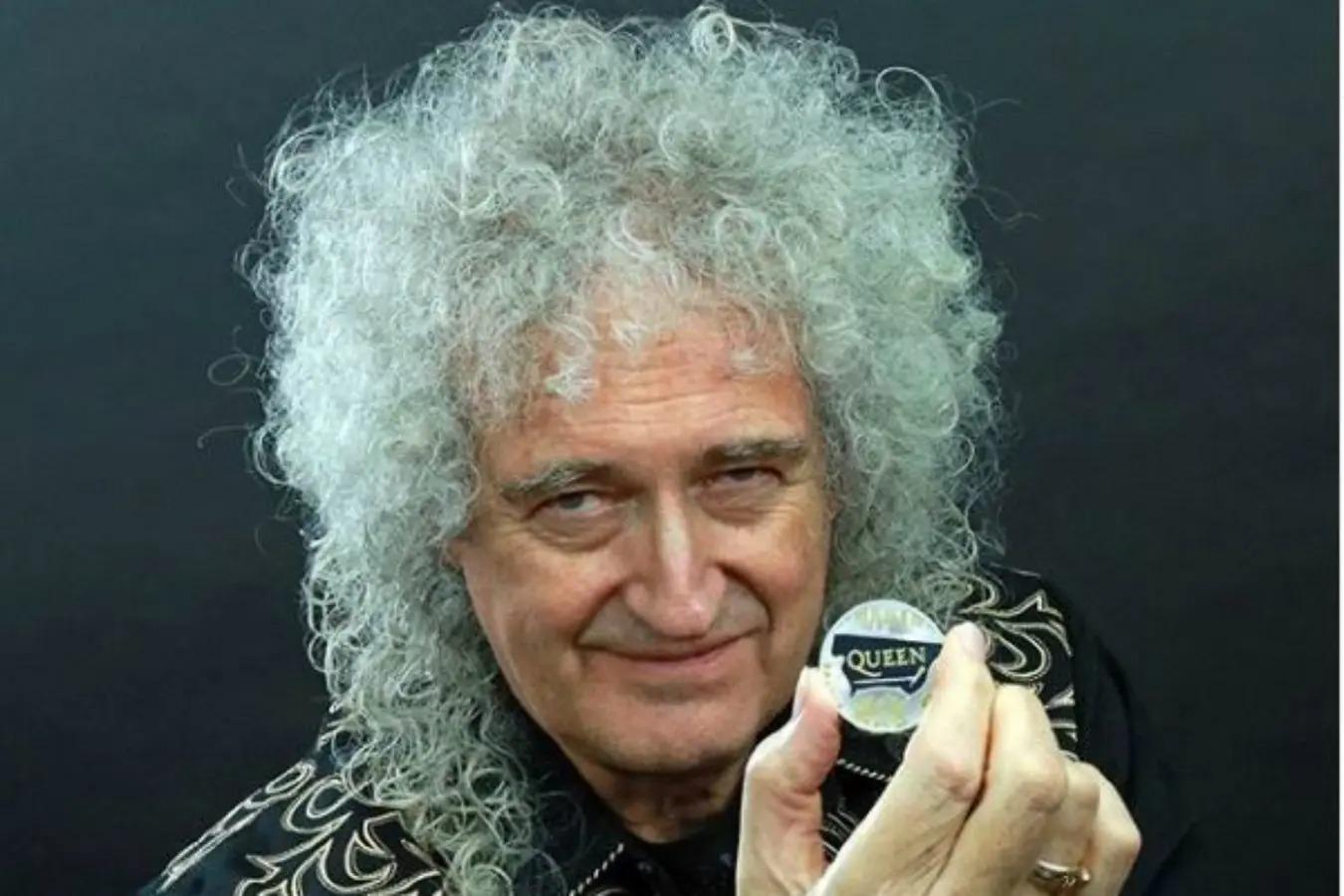 Brian May superó a Jimi Hendrix y fue elegido el mejor guitarrista de todos los tiempos