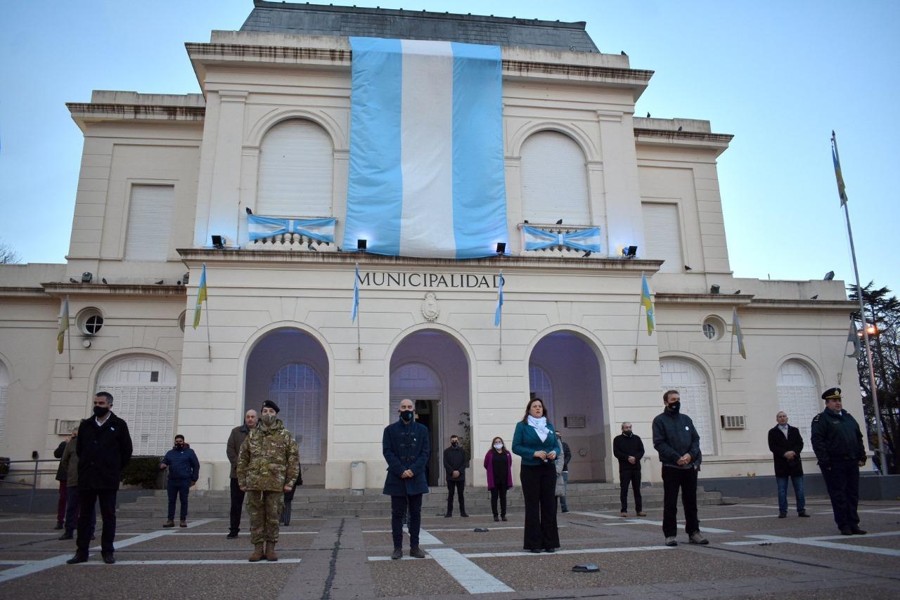 «Belgrano fue un hombre de probada austeridad y honradez», dijo Pablo Pildain en el acto por 200° Aniversario de su fallecimiento