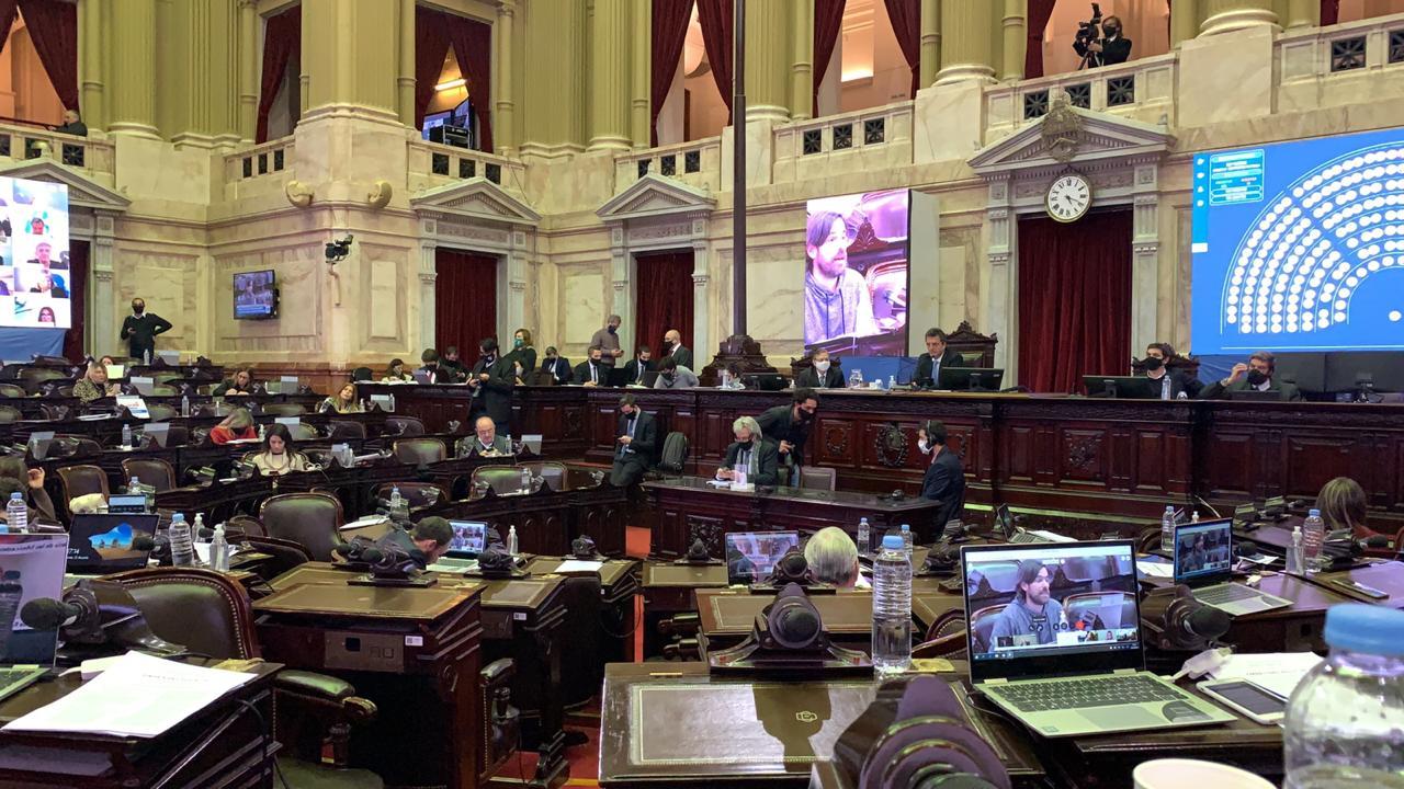 Martín Maquieyra se someterá al hisopado después de estar en la sesión del jueves en la Cámara de Diputados