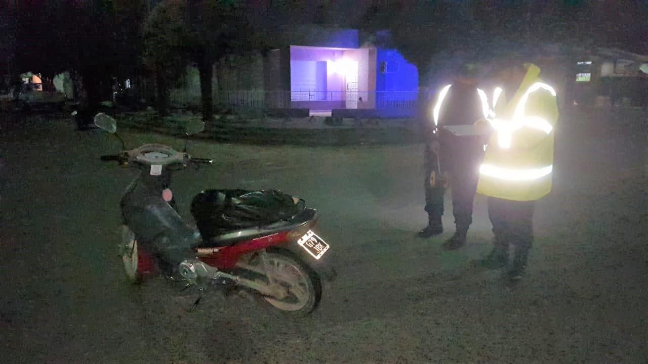 Accidente leve entre motos en calle 11 y 112: No hubo lesionados