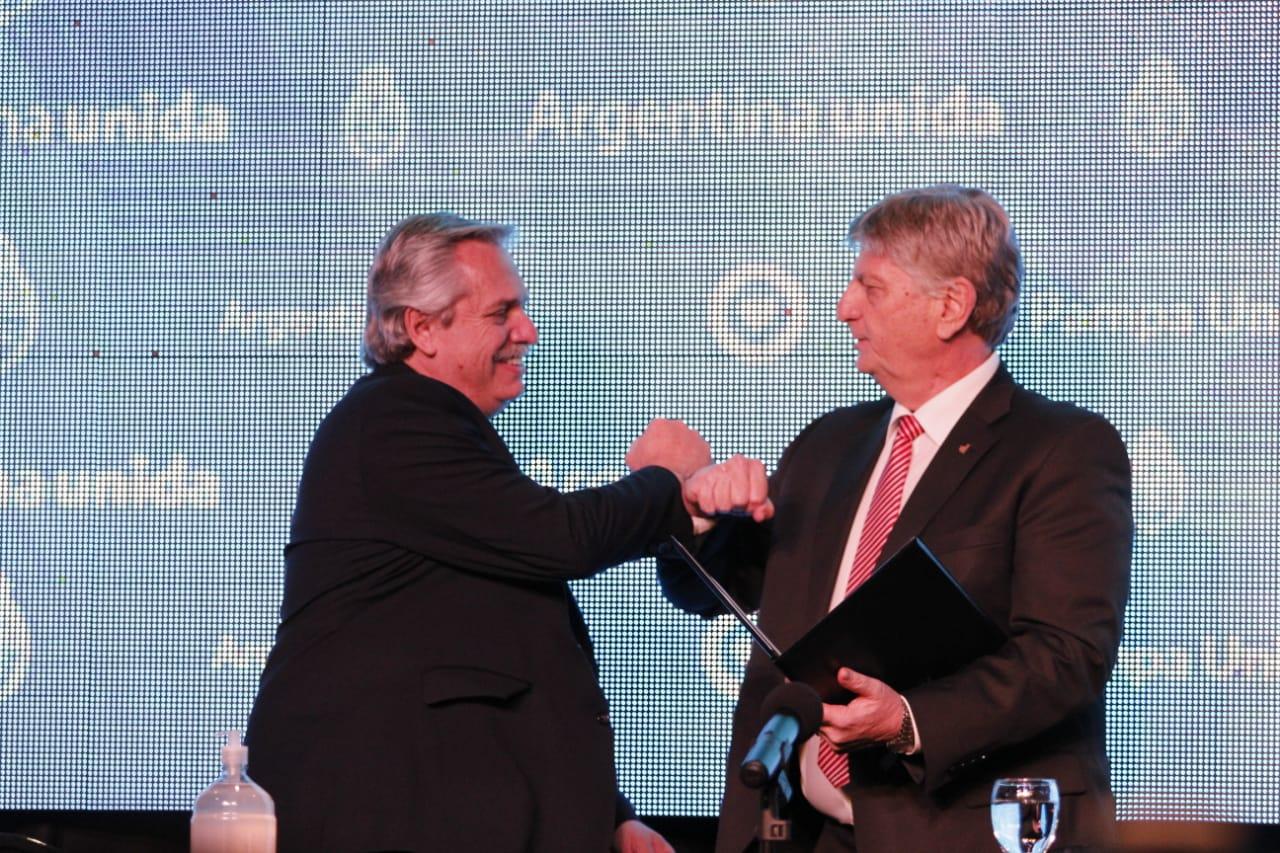 Durante la visita de Alberto Fernández a La Pampa se anunciaron obras para General Pico por $ 400 millones de pesos