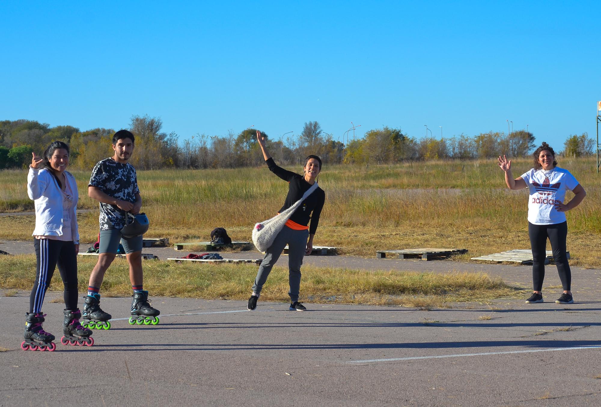 ¡Buena noticia para los patinadores! Autorizan la práctica del patinaje en el antiguo autódromo de General Pico