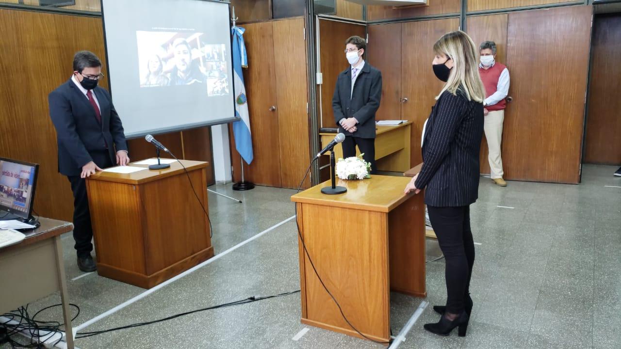 Tomaron juramento a nuevos funcionarios en el Edificio Judicial de General Pico