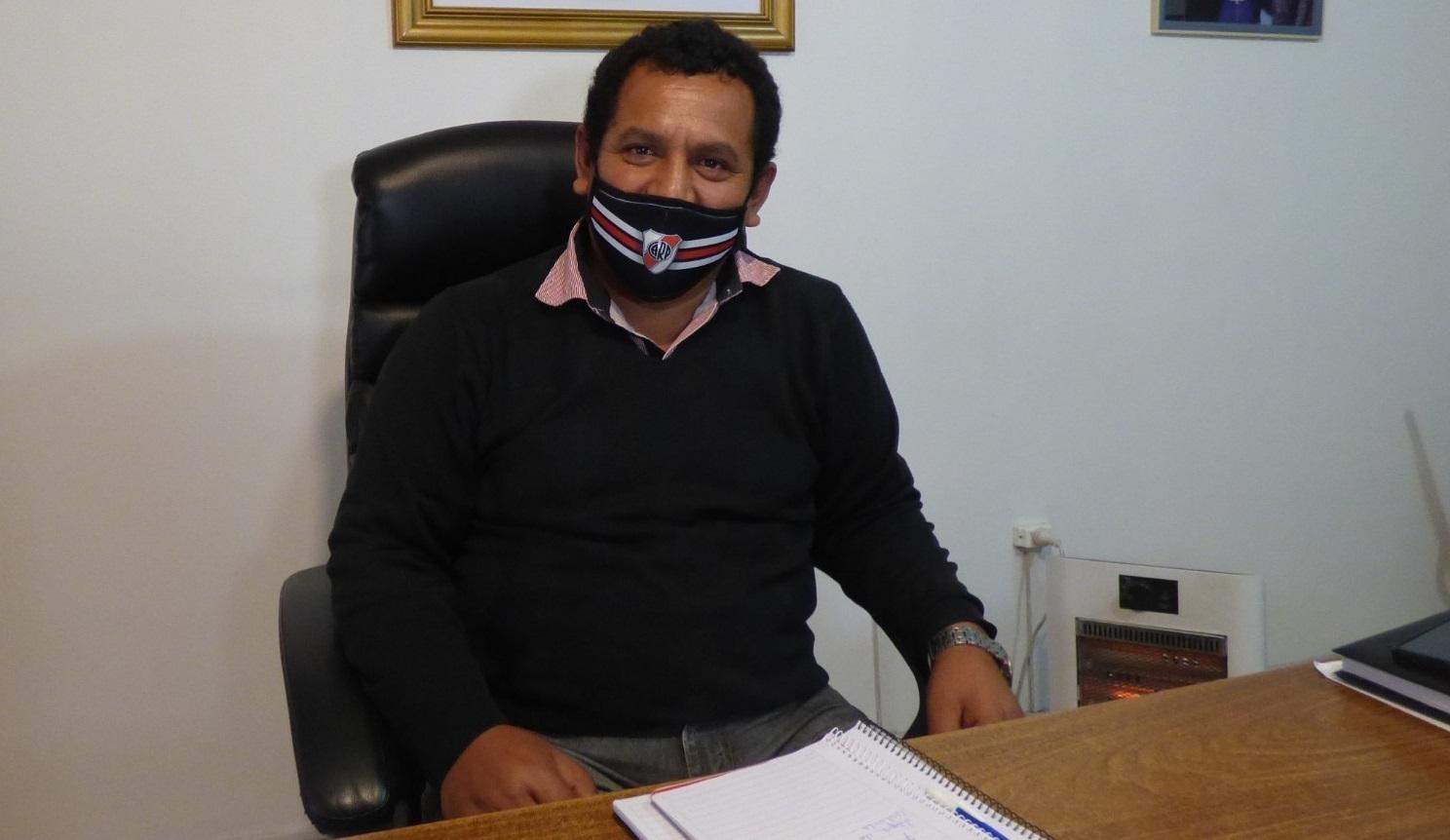 """El intendente de La Humada indicó que """"estar cerca de Mendoza trajo inconvenientes, pero se fueron solucionando gracias al buen trabajo de la Policía"""""""