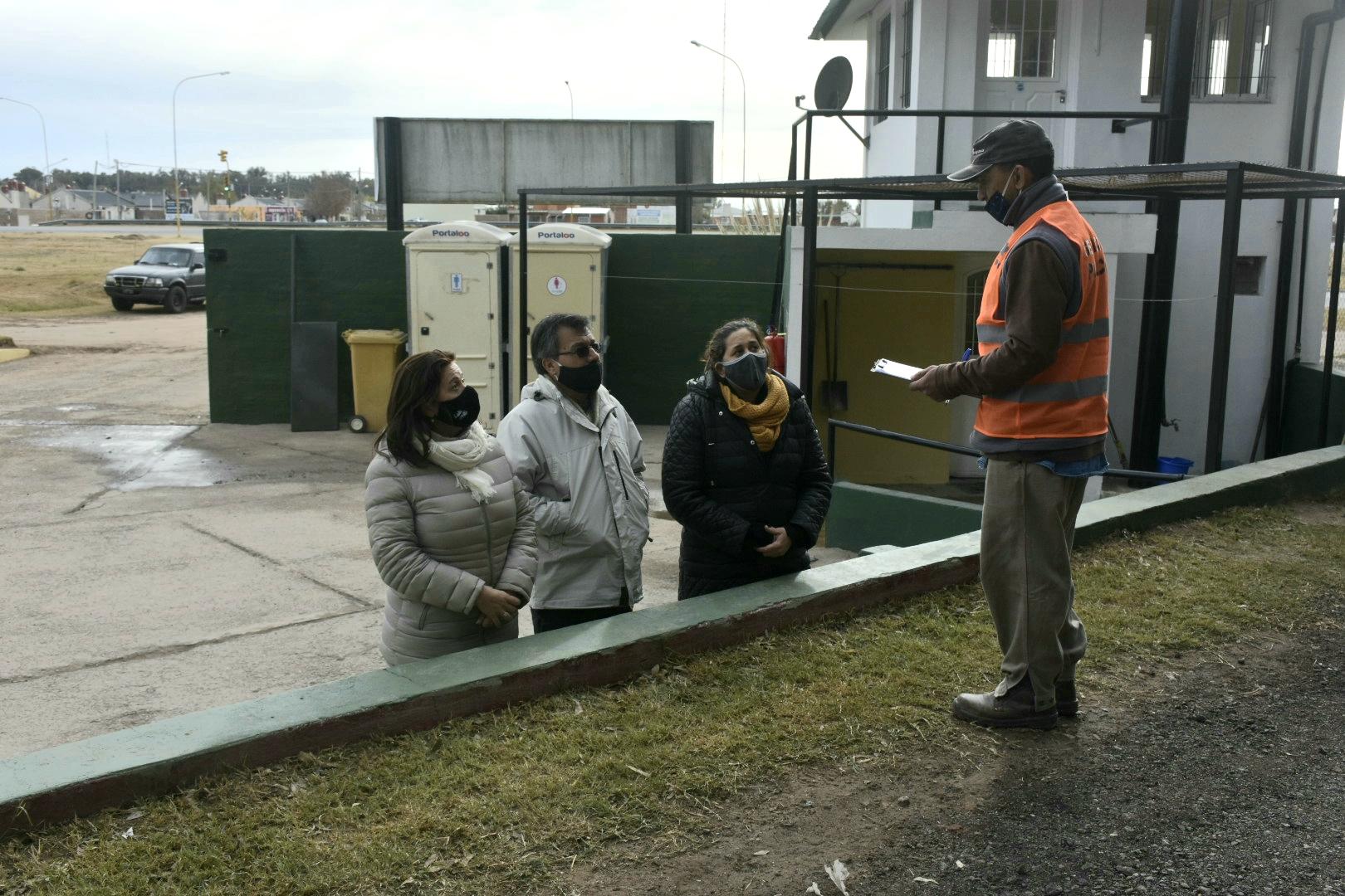 """Recorrida por la Estación de Transferencia de Residuos Sólidos Urbanos: """"Hay un cambio de conciencia entre los vecinos"""""""