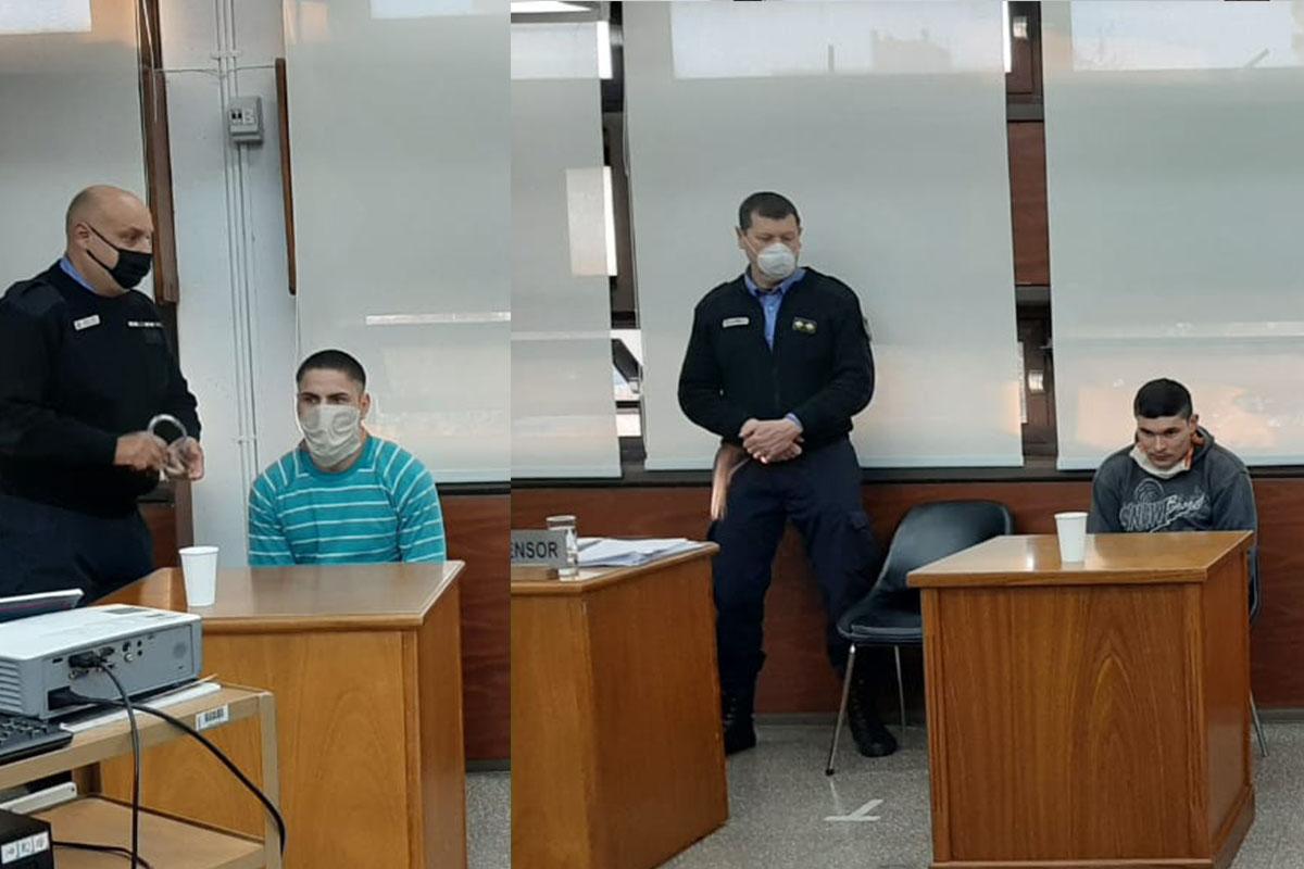 Comenzó el juicio contra Ramiro Lázaro Pino y Gastón Ezequiel Quintero por el homicidio de Jacinto Atilio Tallone y Héctor Ceferino
