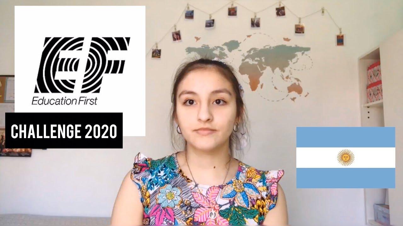 """Joven trenelense participa del Desafío Internacional de Oratoria """"EF Challenge"""" reflexionando sobre la desigualdad de género"""