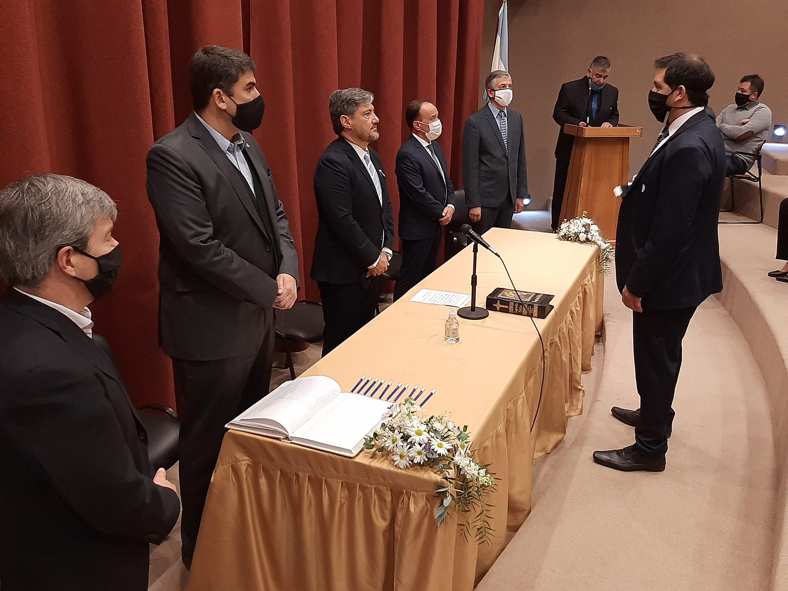 Alejandro Sebastián Mendiara asumió como fiscal adjunto en Eduardo Castex