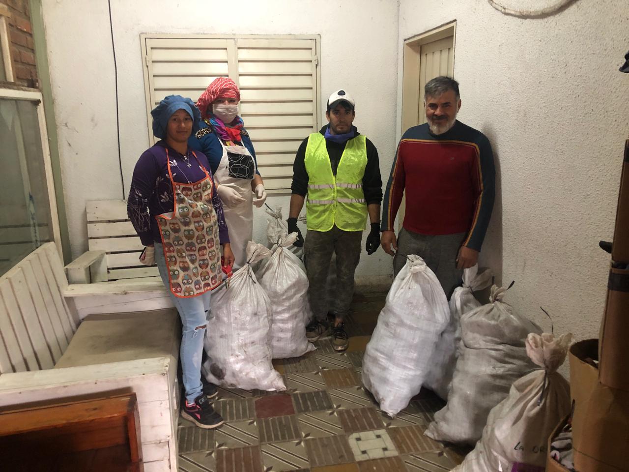 """El merendero """"Rayito de luz"""" asiste a 106 familias: Necesita donaciones de alimentos y artículos de limpieza"""