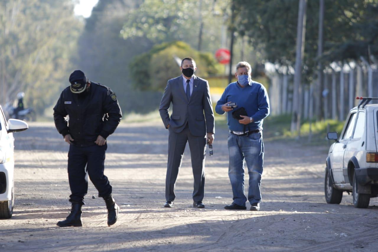 """El jefe de la policía pampeana, Roberto Ayala, afirmó que se refuerzan los controles en puestos camineros """"debido a los casos que aparecieron en Villegas y Catriel"""""""