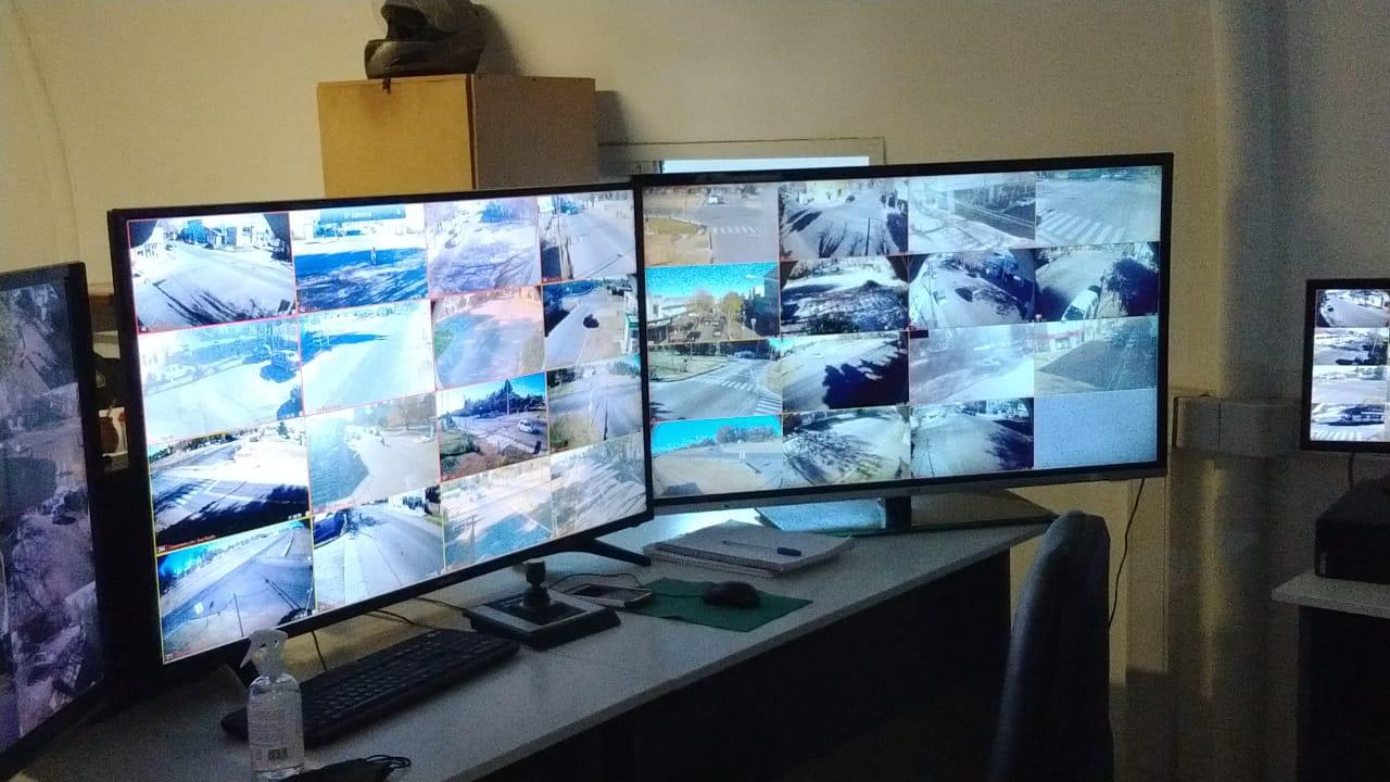 Comienzan a instalar 40 cámaras de seguridad en General Pico