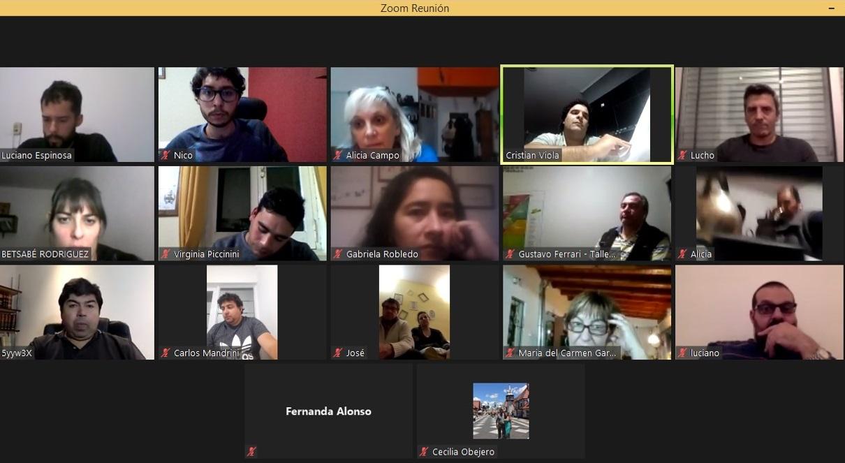Se desarrolló el Tercer Encuentro Anual del Consejo Interbarrial de General Pico