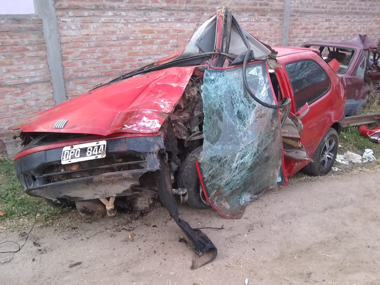 Dos jóvenes fallecieron tras un fatal accidente en Caleufú