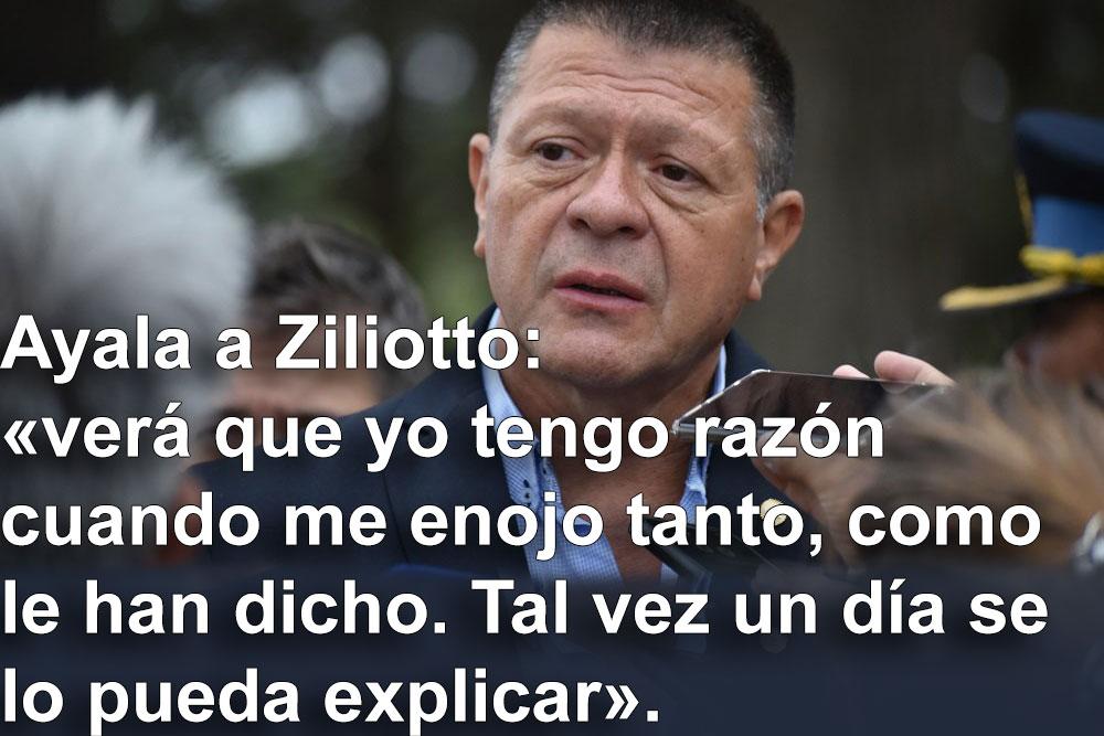 Tras la renuncia, el ex jefe de la policía pampeana, elogió a Verna, al ex ministro González y remarcó total desacuerdo con la gestión actual